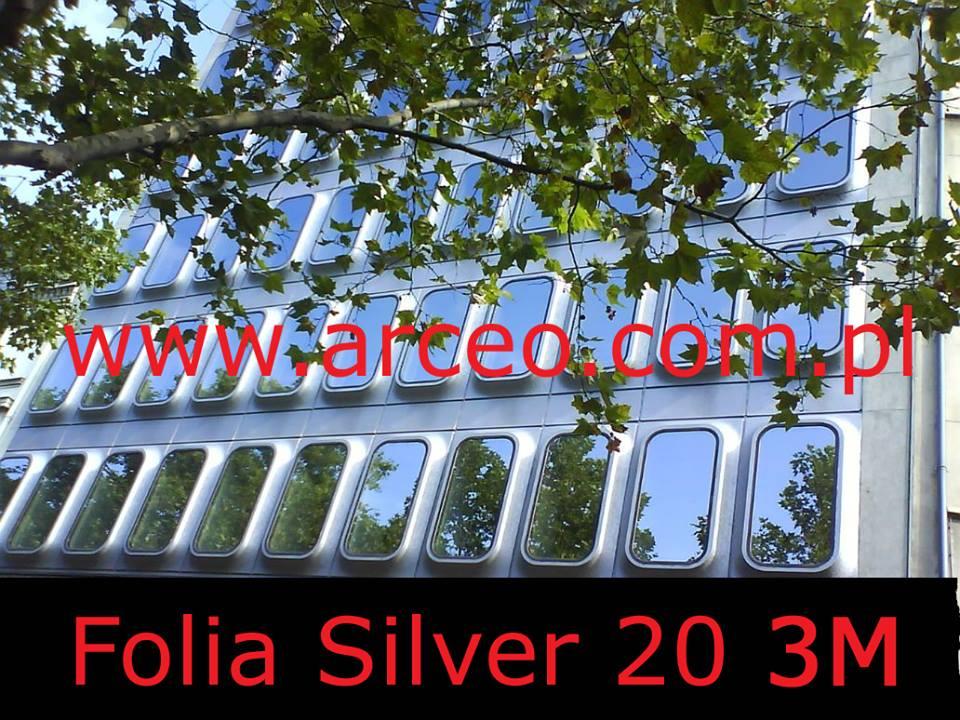 folia przeciwsłoneczna silver 20 3M